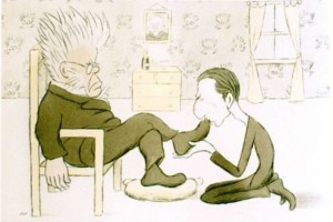 Ibsen and his early British translator William Archer